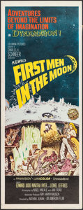 "Movie Posters:Science Fiction, First Men in the Moon (Columbia, 1964). Insert (14"" X 36""). ScienceFiction.. ..."