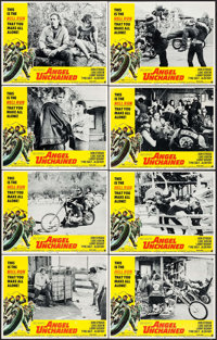 "Angel Unchained (American International, 1970). Lobby Card Set of 8 (11"" X 14""). Exploitation. ... (Total: 8 I..."