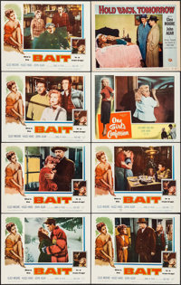 """Bait & Other Lot (Columbia, 1954). Lobby Cards (8) (11"""" X 14""""). Bad Girl. ... (Total: 8 Items)"""