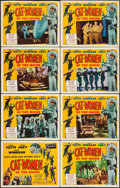 """Movie Posters:Science Fiction, Cat-Women of the Moon (Astor Pictures, 1954). Lobby Card Set of 8(11"""" X 14""""). Science Fiction.. ... (Total: 8 Items)"""