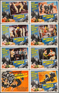 """Movie Posters:Science Fiction, Missile to the Moon (Astor Pictures, 1958). Lobby Card Set of 8(11"""" X 14""""). Science Fiction.. ... (Total: 8 Items)"""