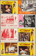 """Movie Posters:Foreign, The Night Heaven Fell & Others Lot (Kingsley International, 1958). Lobby Cards (8) (11"""" X 14""""). Foreign.. ... (Total: 8 Items)"""