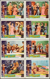 "Queen of Outer Space (Allied Artists, 1958). Lobby Card Set of 8 (11"" X 14""). Science Fiction. ... (Total: 8 I..."