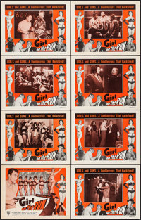 "Girl on the Run (Astor Pictures, 1953). Lobby Card Set of 8 (11"" X 14"") & Half Sheet (22"" X 28"")..."