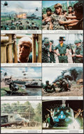 "Movie Posters:War, Apocalypse Now (United Artists, 1979). Mini Lobby Card Set of 8 (8""X 10"") & Program (16 Pages, 7"" X 11""). War.. ... (Total: 9Items)"