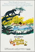 """Movie Posters:Animation, The Jungle Book (Buena Vista, R-1978/R-1984). One Sheet (27"""" X 41"""")& Lobby Card Set of 8 (11"""" X 14""""). Animation.. ... (Total: 9Items)"""