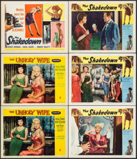"""The Unholy Wife & Others Lot (RKO, 1957). Lobby Cards (9) & Title Lobby Card (11"""" X 14""""). Crime. ... (..."""