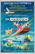 "Movie Posters:Animation, The Rescuers (Buena Vista, 1977). One Sheet (27"" X 41"") & Lobby Card Set of 9 (11"" X 14""). Animation.. ... (Total: 10 Items)"