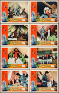 """Beyond the Time Barrier (American International, 1959). Lobby Card Set of 8 (11"""" X 14""""). Science Fiction..."""