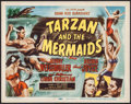 "Movie Posters:Adventure, Tarzan and the Mermaids (RKO, 1948). Title Lobby Card (11"" X 14"").Adventure.. ..."