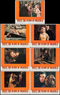 """Movie Posters:Horror, Taste the Blood of Dracula (Warner Brothers, 1970). Lobby Cards (7)(11"""" X 14""""). Horror.. ... (Total: 7 Items)"""