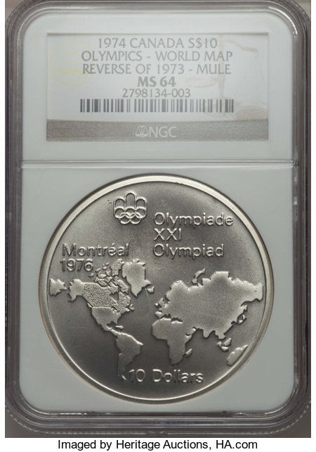 1974 canada world map reverse of 1973 mule s10 coin auctions and pr 1124 gumiabroncs Gallery