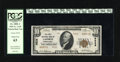 National Bank Notes:Pennsylvania, LaPorte, PA - $10 1929 Ty. 2 The First NB Ch. # 9528. An attractivePCGS Choice New 63 specimen....