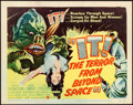 """Movie Posters:Science Fiction, It! The Terror from Beyond Space (United Artists, 1958). Title Lobby Card (11"""" X 14"""").. ..."""