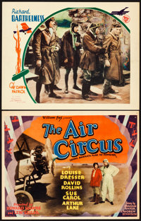 """The Air Circus and Other Lot (Fox, 1928). Title Lobby Card (11"""" X 14"""") and Lobby Card (11"""" X 14"""")..."""
