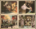 "Movie Posters:Drama, Dream Street (United Artists, 1921). Title Lobby Card & LobbyCards (3) (11"" X 14"").. ... (Total: 4 Items)"