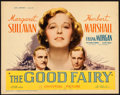 "Movie Posters:Comedy, The Good Fairy (Universal, 1935). Title Lobby Card (11"" X 14"")....."