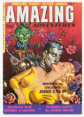 Golden Age (1938-1955):Science Fiction, Amazing Adventures #4 (Ziff-Davis, 1951) Condition: VG/FN....