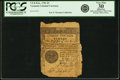 Colonial Notes:Vermont, State of Vermont February 1781 3 Pounds Fr. VT-8. PCGS Very Fine 30Apparent.. ...