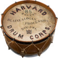 Political:3D & Other Display (pre-1896), Blaine & Logan: A Delightful Political Parade Drum from th...