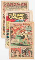 Golden Age (1938-1955):Miscellaneous, Comic Books - Assorted Golden Age Comics Group of 46 (Various Publishers, 1940s) Condition: Coverless.... (Total: 46 Comic Books)