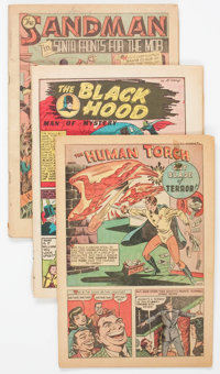 Comic Books - Assorted Golden Age Comics Group of 46 (Various Publishers, 1940s) Condition: Coverless.... (Total: 46 Com...