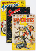 Golden Age (1938-1955):Miscellaneous, Comic Books - Assorted Golden and Silver Age Comics Group of 58 (Various Publishers, 1940s-60s) Condition: Average FR.... (Total: 58 Comic Books)