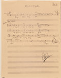 Music Memorabilia:Documents, Elvis Presley - A Group of Piano Lead Sheets from Easy Come,Easy Go (Paramount, 1967). ...