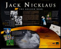 Golf Collectibles:Autographs, Jack Nicklaus Signed Oversized Photograph. ...