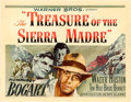 "Movie Posters:Film Noir, The Treasure of the Sierra Madre (Warner Brothers, 1948). HalfSheet (22"" X 28"") Style B.. ..."
