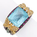 Estate Jewelry:Rings, Multi-Stone, Gold Ring. . ...