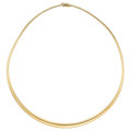 Estate Jewelry:Necklaces, Gold Necklace. . ...