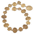 Estate Jewelry:Other, Gilt Sterling Silver Belt, Cartier. . ...