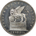 Italy:Venice, Italy: Venice. Revolutionary Republic 5 Lire 1848 MS67 ProoflikeNGC,...