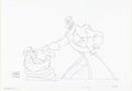 Animation Art:Production Drawing, Return to Never Land Captain Hook and Smee Animation Drawing(Walt Disney, 2002)....