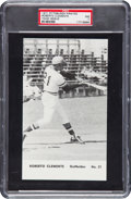 Baseball Cards:Singles (1970-Now), 1971 Pittsburgh Pirates Team Issue Roberto Clemente PSA NM 7. ...