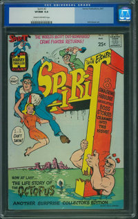 The Spirit #2 (Harvey, 1967) CGC VF/NM 9.0 Cream to off-white pages