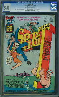 The Spirit #2 (Harvey, 1967) CGC VF 8.0 Cream to off-white pages