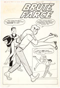 Original Comic Art:Splash Pages, Harry Lucey Archie's Pals 'n' Gals #26 Splash Page OriginalArt (Archie, 1963)....