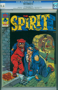 The Spirit #7 (Warren, 1975) CGC NM 9.4 Off-white to white pages