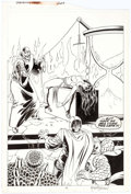 Original Comic Art:Splash Pages, Keith Pollard and Romeo Tanghal Fantastic Four #324 SplashPage 13 Original Art (Marvel, 1989)....