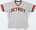 Baseball Collectibles:Uniforms, Circa 1970's Mickey Stanley Game Worn Detroit Tigers Jersey. ...