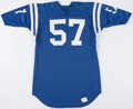 Football Collectibles:Uniforms, Circa 1970's Ken Mendenhall Game Worn Baltimore Colts Jersey....