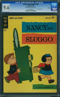 Nancy and Sluggo #189 - File Copy (Gold Key, 1963) CGC NM+ 9.6 Off-white to white pages