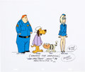 Animation Art:Color Model, Hong Kong Phooey Main Characters Color Model/Size ComparisonCel (Hanna-Barbera, 1974)....