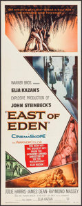 """Movie Posters:Drama, East of Eden (Warner Brothers, 1955). Insert (14"""" X 36""""). Drama.. ..."""