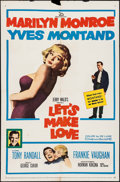 """Movie Posters:Comedy, Let's Make Love (20th Century Fox, 1960). One Sheet (27"""" X 41"""").Comedy.. ..."""