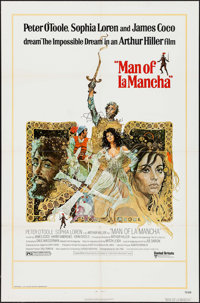 "Man of La Mancha (United Artists, 1972). One Sheet (27"" X 41""). Musical"