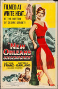 """Movie Posters:Crime, New Orleans Uncensored (Columbia, 1955). One Sheet (27"""" X 41"""").Crime.. ..."""