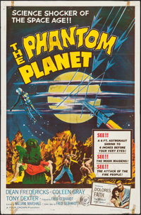 """The Phantom Planet (Four Crown, 1962). One Sheet (27"""" X 41""""). Science Fiction"""